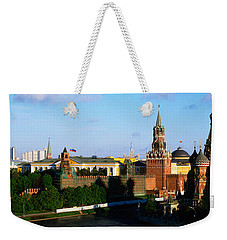 Russia, Moscow, Red Square Weekender Tote Bag by Panoramic Images