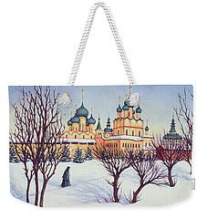 Russian Winter Weekender Tote Bag by Tilly Willis