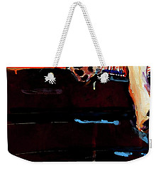 Sacked Weekender Tote Bag by Molly Poole