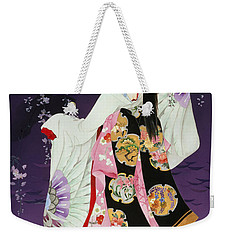 Sagi No Mai Weekender Tote Bag by Haruyo Morita
