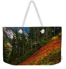 Sahale Arm Weekender Tote Bag by Inge Johnsson