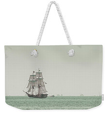 Sail Ship 1 Weekender Tote Bag by Lucid Mood