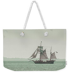 Sail Ship 2 Weekender Tote Bag by Lucid Mood