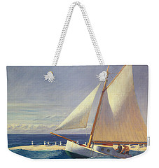 Sailing Boat Weekender Tote Bag by Edward Hopper