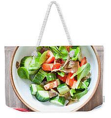 Salad Weekender Tote Bag by Tom Gowanlock