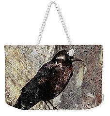 Same Crow Different Day Weekender Tote Bag by Carol Leigh