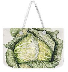 Savoy Cabbage  Weekender Tote Bag by Alison Cooper