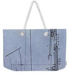 Saxophone Weekender Tote Bag by Dan Sproul