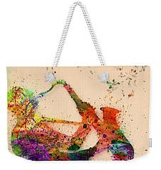 Saxophone  Weekender Tote Bag by Mark Ashkenazi