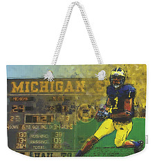 Scoreboard Plus Weekender Tote Bag by John Farr