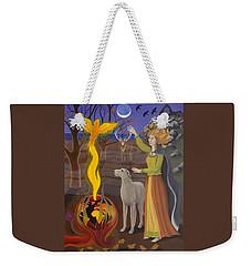 Scorpio / Morrigan Weekender Tote Bag by Karen MacKenzie