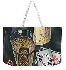 Scotch And Cigars 2 Weekender Tote Bag by Debbie DeWitt