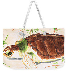 Sea Turtle Art By Sharon Cummings Weekender Tote Bag by Sharon Cummings