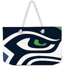 Seattle Seahawks Weekender Tote Bag by Tony Rubino