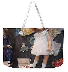 Shirley Temple Doll Weekender Tote Bag by Donna Wilson