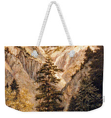 Shirley Temple Mine Weekender Tote Bag by Donna Tucker