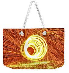 Shooting Sparks Weekender Tote Bag by Dan Sproul