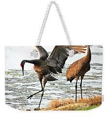 Showoff Weekender Tote Bag by Carol Groenen