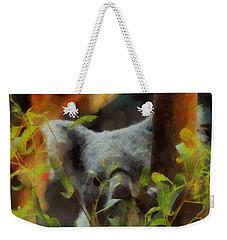 Shy Koala Weekender Tote Bag by Dan Sproul