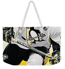 Sidney Crosby Artwork Weekender Tote Bag by Sheraz A