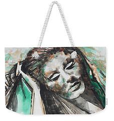 Singer Adele 01 Weekender Tote Bag by Chrisann Ellis