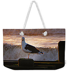 Sittin On The Dock Of The Bay Weekender Tote Bag by David Dehner