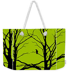 Sitting Around Weekender Tote Bag by Lourry Legarde