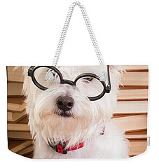 Smart Doggie Weekender Tote Bag by Edward Fielding