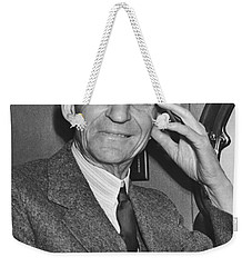 Smiling Henry Ford Weekender Tote Bag by Underwood Archives