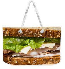 Smoked Turkey Sandwich Weekender Tote Bag by Edward Fielding