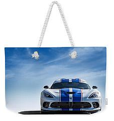 Snake Eyes Weekender Tote Bag by Douglas Pittman