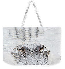 Sneaky Swamp Gator Weekender Tote Bag by Carol Groenen