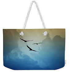 Soaring Eagles Weekender Tote Bag by Bill Cannon