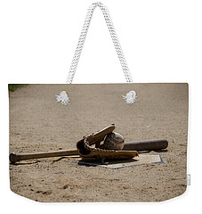 Softball Weekender Tote Bag by Bill Cannon