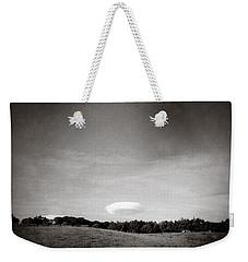 Spaceship Weekender Tote Bag by Dave Bowman