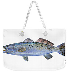 Speckled Trout Weekender Tote Bag by Carey Chen