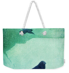 Spirit Bird Weekender Tote Bag by Priska Wettstein