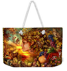 Spirit Of Autumn Weekender Tote Bag by Ciro Marchetti