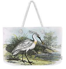 Spoonbill Weekender Tote Bag by English School