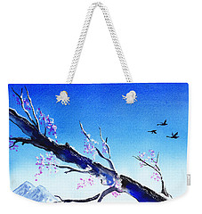 Spring In The Mountains Weekender Tote Bag by Irina Sztukowski