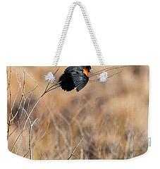 Springtime Song Square Weekender Tote Bag by Bill Wakeley