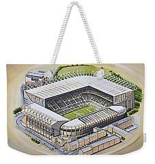 St  James Park - Newcastle United Weekender Tote Bag by D J Rogers