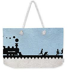Stand By Me Weekender Tote Bag by Ayse Deniz