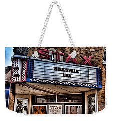 Stax Records Weekender Tote Bag by Stephen Stookey
