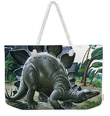 Stegosaurus Weekender Tote Bag by English School