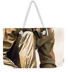 Steve Mcqueen Artwork Weekender Tote Bag by Sheraz A