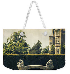 Stone Bench Weekender Tote Bag by Joana Kruse
