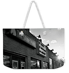 Stone Pony Asbury Park Side View Weekender Tote Bag by Terry DeLuco