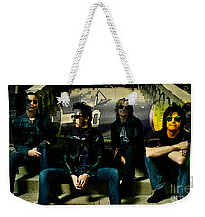 Stone Temple Pilots Weekender Tote Bag by Marvin Blaine
