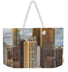Streeterville From Above Weekender Tote Bag by Adam Romanowicz